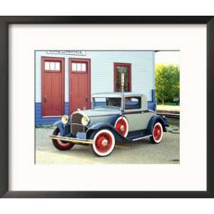 1932 Plymouth Model PA Rumble Seat Coupe Framed