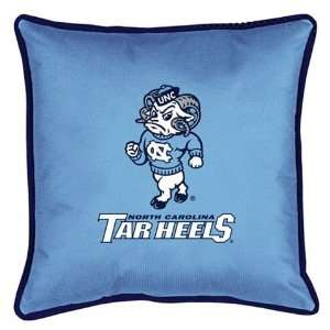UNC University of North Carolina Throw Bed Pillow 17x17