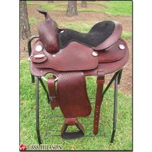 Flex Tree Orthopedic Western Trail Pleasure Saddle.
