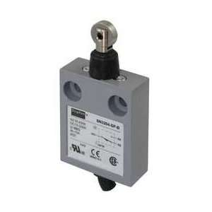 Dayton 12T935 Mini Limit Switch, SPDT, Vert, Roller Plung