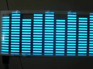 EL Car Stickers Sound Music Activated / Sensor Glow 12V LED Light 70cm