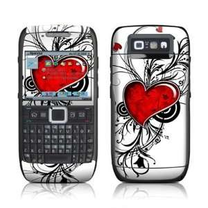 com My Heart Design Protective Skin Decal Sticker for Nokia E71 Cell