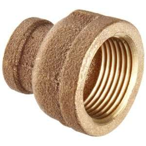 Anderson Metals Brass Threaded Pipe Fitting, Coupling Reducing, 1 x 3