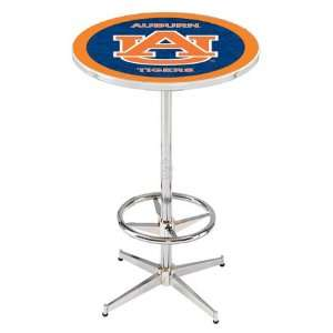 36 Auburn Counter Height Pub Table   Chrome Base with