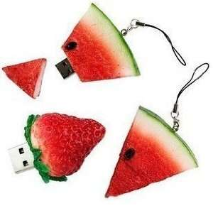 Watermelon Shape 8gb USB Flash Drive Electronics