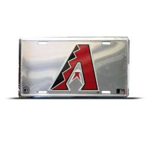 Arizona Diamondbacks Mlb Metal Sport License Plate Wall
