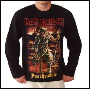Iron Maiden Paschendale Long Sleeve T Shirt L, XL