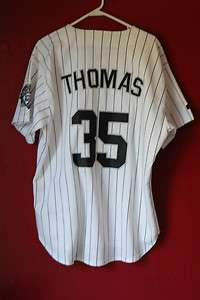 FRANK THOMAS autographed WHITE SOX jersey with COA from Score Board