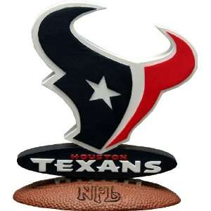 Licensed NFL Football Houston Texans 3D Logo Texans