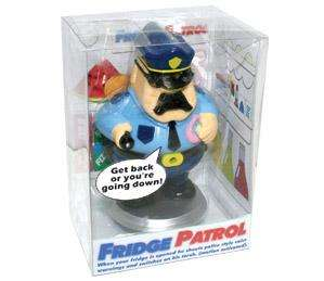 Motion Activated Talking Fridge Patrol   NEW Fun Gift