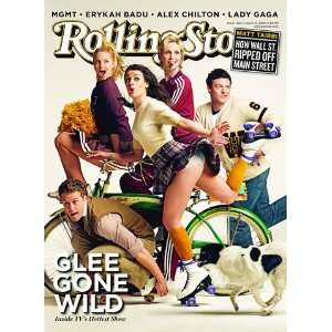 Cast of GLEE, 2010 Rolling Stone Cover Poster by Mark