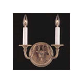 World Imports 1000 14/21 Sconce French Gold / Black Width