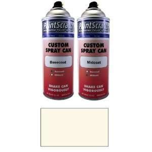 12.5 Oz. Spray Can of White Diamond Pearl Tri coat Touch Up Paint for