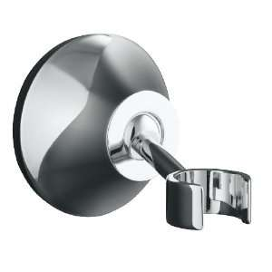 KOHLER K 352 CP Forte Adjustable Wall Mount Bracket, Polished Chrome