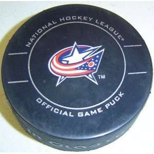 Columbus Blue Jackets NHL Hockey Official Game Puck