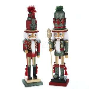 Hollywood Nutcrackers Kurt Adler 19 Inch Hollywood Red