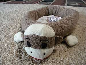 Original Sock Monkey Small Animal Pet Cozy Bed Dog Cat MAXX stuffed