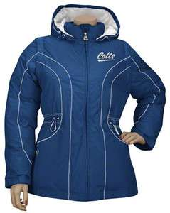 INDIANAPOLIS COLTS LADIES 3 IN ONE JACKET BRAND NEW WITH TAGS ASSORTED