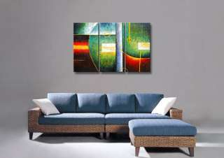 P132   60 FRAMED MODERN Landscape Autumn Path ART OIL PAINTING