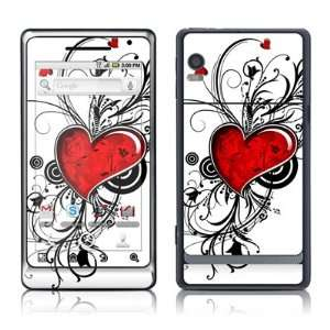 My Heart Design Protective Skin Decal Sticker for Motorola