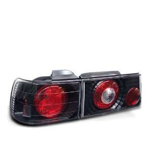 Eautolights 90 91 Honda Accord 4 Door Tail Lights + LED