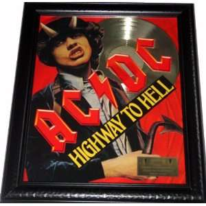 AC/DC Highway To Hell Gold Record Award non Riaa LP CD