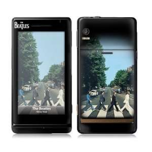 Droid  The Beatles  Abbey Road Skin Cell Phones & Accessories