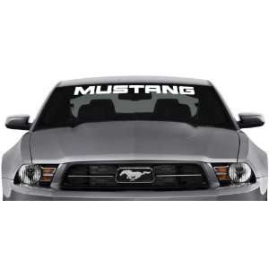 Ford Mustang Windshield Banner Wall Decal Sticker 40x3