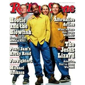 Hootie & The Blowfish, 1995 Rolling Stone Cover Poster by