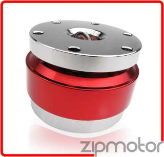 STEERING WHEEL QUICK RELEASE HUB ADAPTER KIT RED EXCURSION EXPEDITION