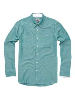 Mens Premium Mer Man Button Down Shirt Blue 2XL $69.00