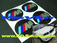 BMW M Power Wheel Centre Cap Decal Sticker M3 Z3 Z4 M5