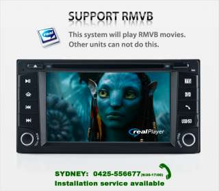 GPS DVD IPOD BLUETOOTH RADIO PLAYER 4 SUBARU FORESTER IMPREZA