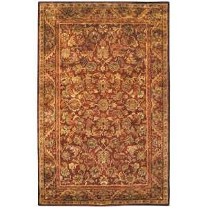AT52B Antiquities Majesty AT52B Wine / Gold Oriental Rug Baby