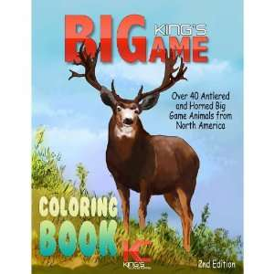 Kings Big Game Coloring Book Toys & Games