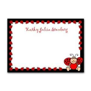 Lucky Lady Bug Thank You Cards (Girl) Toys & Games