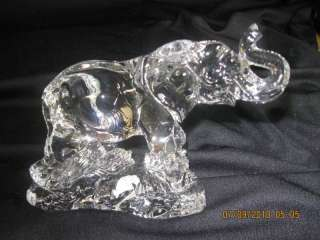 874 Princess House WOW Lead Crystal African Elephant NO BOX Brand New
