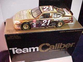 ELLIOTT SADLER #21 MOTORCRAFT 1/24 OWNERS GOLD T.C. CAR