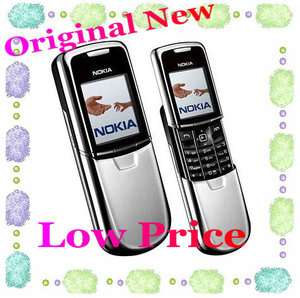 Brand New Original Nokia 8800 Unlocked GSM Silver Mobile Phone