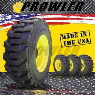 New Holland Skid Steer 12x16.5 Tire Wheel Rim Combo, 100% Made in USA