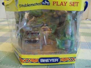 Breyer Stablemates Fantasy Play Set sealed horse dragon princess 5911