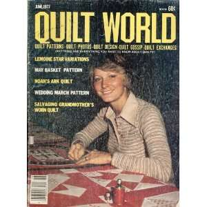 Quilt World Magazine, June 1977 Quilt World Magazine Books