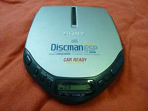 Sony Discman D E307CK 10 Seconds ESP Car Ready Compact Disc CD Player