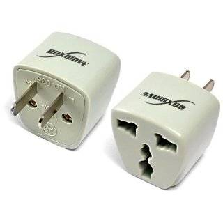 BoxWave Universal to American Outlet Plug Adapter Explore