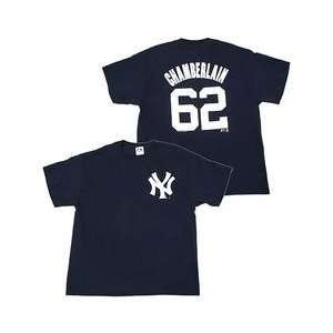 New York Yankees Youth Joba Chamberlain Name & Number Youth T Shirt by
