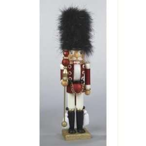Hollywood Black & Red Glitter Christmas Nutcracker