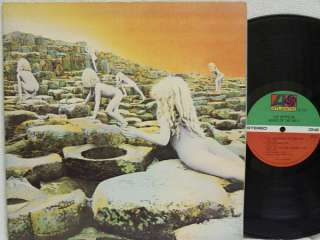 LED ZEPPELIN   Houses of the Holy LP (1st US Pressing, Robert Ludwig)