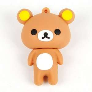 Rilakkuma USB Memory Disk Flash Drive 4GB Brown