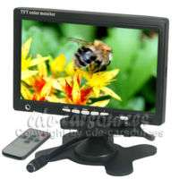 2CH Video Input 7inch TFT LCD Color Car Monitor+Speaker