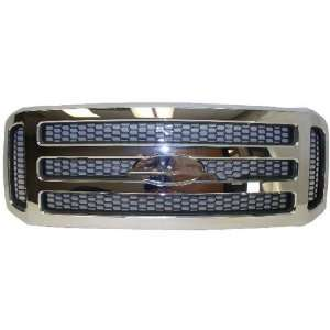 05 07 FORD SUPER DUTY PICKUP F250 F350 F450 F550 GRILLE CHROME WITH